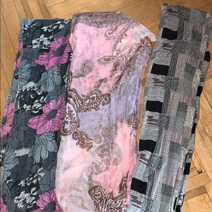 4 for $20 Pink scarf bundle